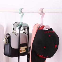 $enCountryForm.capitalKeyWord Australia - Multi-function Travel Hook Can Be Rotated Tie Scarf Belt Bag Hook Simple Fashion Hooks