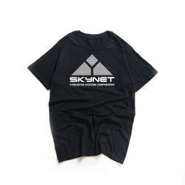 d8b99102 2019 Summer Fashion T Shirt Men Women Skynet Cyberdyne System Terminator  Print T-shirts Schwarzenegger Film Cotton Swag Tee Tops