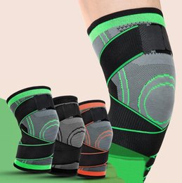 $enCountryForm.capitalKeyWord Australia - The new silicone spring supports pressurized fitness running knee pads breathable nylon anti-skid outdoor basketball mountaineering gear