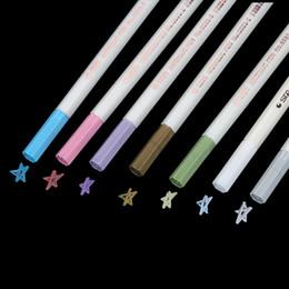 $enCountryForm.capitalKeyWord UK - Colored Marker Pen For Wedding Photo Album Diary Scrapbooking Watercolor Gel Pens For Black Board DIY Cute Water Chalk Pen