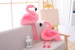 $enCountryForm.capitalKeyWord Australia - Creative Flamingo Dude Pink Love Bird Plush Toys for Children's Dolls Photo props