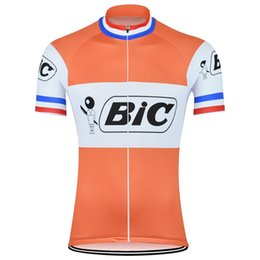 Bicycle wear women online shopping - New men s Orange Cycling Jersey Retro Cycling Clothing Bike Wear Maillot Roupa Ropa De Ciclismo Bicycle Short sleeve top Clothes