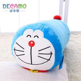 $enCountryForm.capitalKeyWord UK - Doraemon Cylinder Stuffed Animal Collectible Plush Toys Pillow Car Decoration Cute Valentine's Day Gifts Hot Toys Dolls