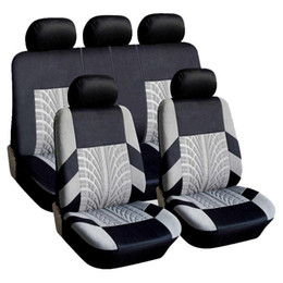 Wholesale Adeeing 9PCS Set Universal Breathable Car Seat Cover Protector Universal Fit Most Cars Covers Car-styling Automobile Accessories