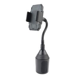 Универсальный регулируемый универсальный держатель на гусиную шею Автомобильное крепление для мобильных телефонов WeatherTech CupFone # y4