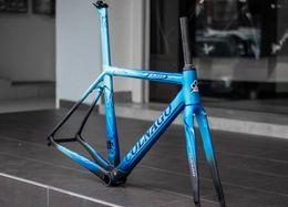 plus récent 2019 Colnago C64 carbone cadre de cadre de vélo de carbone cadre de vélo de carbone T1100 UD carbone taille de cadre de vélo de route XS S M L