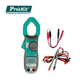 Digital Clamp Meter Dc Current NZ - ProsKit MT-3109 AC DC Current Digital Clamp Meter Multimeter Current Frequency Capacitance Test Meter Electrician Hand Tools