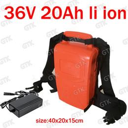 Prune Cutters NZ - GTK 36v 20ah lithium ion battery 20ah li-ion for bike 350w Lawn trimmer Pruning machine Grass mower grass cutter + 3A charger