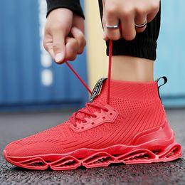 Spring Blade Shoes Men Australia - 2019 Spring Summer Blade Men's Designer Sneakers Europe and America Trend Casual Shoes Men Damping Non-slip Mesh Breathable Sport Shoes 7-13