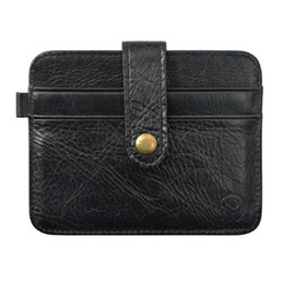 id holders NZ - 2019 New Style Men's Short Wallet Id Casepalm Clutch Women Men Slim Credit Card Holder For Men Male Purse Bag Carteira Masculina
