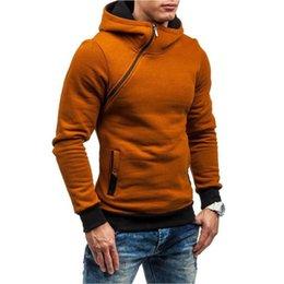 HeavyweigHt Hoodies online shopping - Kangroo Pocket Pull On closure Warm Keeping Autumn Winter Heavyweight Long Sleeve Jacket Active Hooded Slim Fit Half Zips Sweatshirt Hoodie