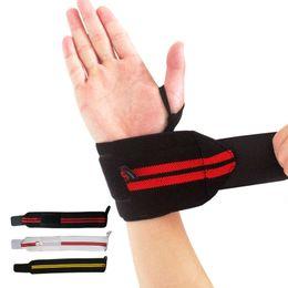 $enCountryForm.capitalKeyWord Australia - 1Pcs Professional WeightLifting Sport Wristband Gym Wrist Brace Thumb Support Straps Wraps Bandage Fitness Training Safety Hand