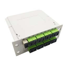$enCountryForm.capitalKeyWord Australia - 1*16 LGX Module PLC Splitter with SC APC Fiber adapters Single Mode FTTH LGX Box PLC Optical Splitter