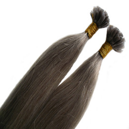 "26 Fusion Hair UK - Unprocessed Virgin Peruvian Remy Hair Extensions 100S Pre Bonded Nail U TIP Hair Extensions Keratin Fusion Remy Hair Extensiions 14"" 16"" 18"