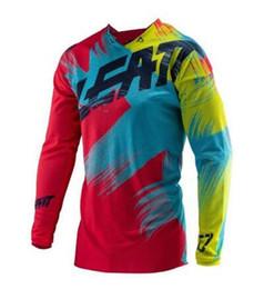 Discount team sky pink jersey - SPTGRVO LairschDan 2019 team bike long sleeve motocycle downhill jersey quick dry maillot motocross shirt dh men bike cl