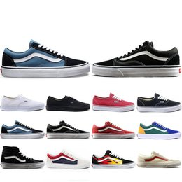 Canvas art for red wall online shopping - New Arrival THE WALL old skool Wans FEAR OF GOD For men women canvas sneakers YACHT CLUB MARSHMALLOW fashion skate casual shoes