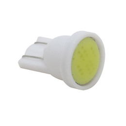 cob chips UK - 2PCS Car White 1 LED COB SMD 6 Chips T10 W5W Wedge Side Light Bulb Lamp Auto Light Source DC 12V
