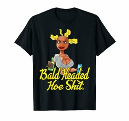 $enCountryForm.capitalKeyWord UK - Bald Headed Hoe Sh*t Sarcastic Girls Big Boobs Funny Drinking Black T-Shirt