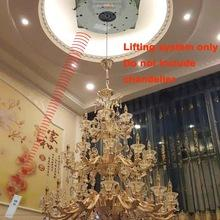 Discount electric cable hoist Hoist Crystal Chandelier Hoist lighting lifter Electric Auto Remote-controlled Winch Light Lifting System Lamp Motor DDJ