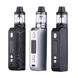 Discount vaporizer for smoking mod - New Arrival 80W E-Cigarette 4ml Tank For Liquid Box Mod Kit Vapor Smoke Vape Pen 2200mAh Vaper Smoking Vaporizer Hookah