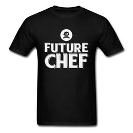 Chef Prints Australia - Future Chef T Shirts Normal TShirt Faddish Letter T-shirt For Men Free Shipping Letter Printed Clothes 100% Cotton Tops Tees