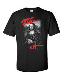 Mona Lisa Art Australia - mens designer t shirts shirt Punk T-Shirt Art Rock Pop Sex Pistols Mona Lisa Gioconda Ramones British Vintage