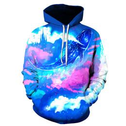 338d4e8e 2019 New Fashion Sweatshirt Men Women 3d Hoodies Print Fish Pattern Hooded  Hoodies Slim Unisex Slim Stylish Hooded Hoodies