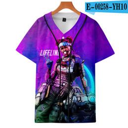 $enCountryForm.capitalKeyWord Australia - FADUN TOMMY 3D APEX LEGENDS Print Casual Childrens t-shirts summer Clothes 2019 Hot Sale boys and girls Short Sleeve Plus Size