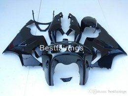 $enCountryForm.capitalKeyWord Australia - Motorcycle plastic fairings for Kawasaki Ninja ZX7R 96 97 98 99 00-03 glossy black fairing kit ZX7R 1996-2003 TY34