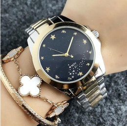 brass strapping 2019 - 2019 hot sale exquisite fashion quality watch women's women's star with the same paragraph good-looking steel