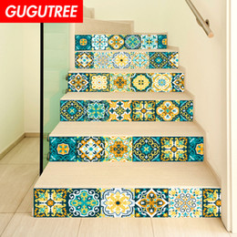 $enCountryForm.capitalKeyWord NZ - Decorate Home 3D return to the ancients cartoon art wall Stair sticker decoration Decals mural painting Removable Decor Wallpaper G-641