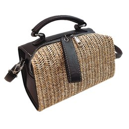 Wholesale Bags For Women Women Vintage Fringed Straw Bag Casual Wild Vacation Simple Weave Crossbody Bag Handbag
