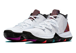 074dc7f7b1a6 Men women kyrie V bhm kids shoes free shipping With Box new Irving 5  Basketball shoes store Wholesale prices size 32-46