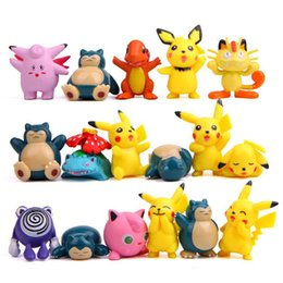 $enCountryForm.capitalKeyWord Australia - 17 styles Pikachu action Figures PVC Animal Toys of 17 pcs set for Kids Birthday Festivel Gift LA12