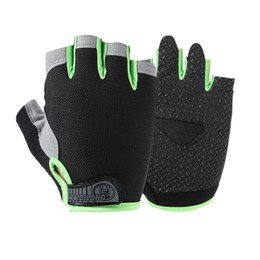 $enCountryForm.capitalKeyWord NZ - Hot Sale Spring Outdoor Sports Half Finger Gloves Cycling Fishing Gym Anti-slip Glove Summer Fingerless Sun Protection Breathable Gloves