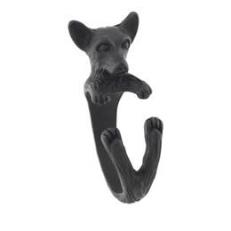 $enCountryForm.capitalKeyWord UK - Black Boho Chic Tiny Chihuahua Dog Wrap Ring For Woman Animal Rings Man Retro Adjustable Mid Finger Ring For Children Babay Pet Gift Bulk
