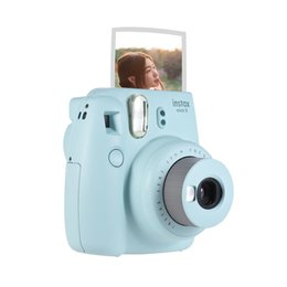 Wholesale New promotion Fujifilm Instax cFilm Camera Photo Instant Camera Pop up Lens Auto Metering Mini Camera gifts for chirden