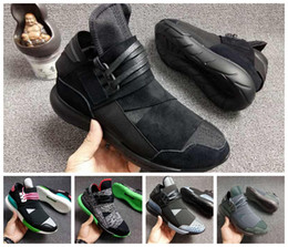 3412406ab Wholesale Y-3 QASA RACER Hight Casual Shoes Sneakers Breathable Men and Women  Casual Shoes Couples Y3 Shoes Size Eur36-44