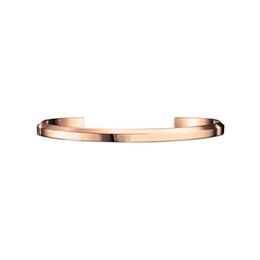 Venta al por mayor de 2019 nuevo lujo 2 del color del acero inoxidable 316L Para las mujeres pulsera pulseras brazaletes Hombres Mujeres pulseras regalo del amor