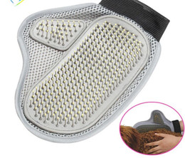 Long Hair Cats NZ - Low Price! 2017 NEW Dog Hair And Fur Remover Mitt Cat Bath Wash Grooming Glove Brush Dogs Cleaning Massage Comb For Long Short Pets