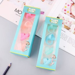 $enCountryForm.capitalKeyWord Australia - 4Pcs Finger Tightening Device Silicone Baby Children Pencil Grip Holder Learning Writing Pen Correction Tools Stationery Gift