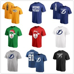 $enCountryForm.capitalKeyWord Australia - 17-18 new season NHL Tampa Bay Lightning AD 91 Stamkos ANY CUSTOM Name and Number Player t-shirt