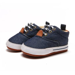 $enCountryForm.capitalKeyWord Australia - Baby Boys New Canvas Classic Sports Sneakers Infant Breathable Anti-Slip Canvas Shoes Sneakers Toddler Soft Soled