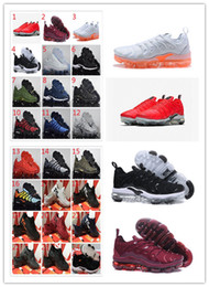 $enCountryForm.capitalKeyWord NZ - 2018 Cheap Maxes VM TN Plus Running Shoes USA Grape RED In Metallic White orange Triple Black Silver mens womens run shoe kids sneakers