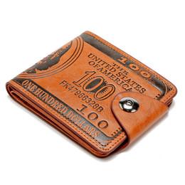 Leather Money Bag Purse Australia - 2019 Originality Men Wallet Pu Leather Purse Trifold Wallets Male High Quality Credit Crad Holders Money Bag Cheap Purse Wallet