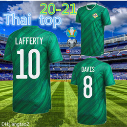 Discount soccer jerseys thai free shipping Free shipping newest Thai quality 2020 2021 Northern Ireland 2020 Northern Ireland Soccer Jerseys home EVANS LEWIS MAN f