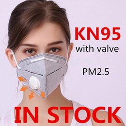 respirator mask filter NZ - HOT SALE! Free Shipping Face Masks Reusable Filter Mask with Valve Dust Breathing Facial Respirator Protective