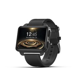 "Smart Watches Gps Wifi Australia - New DM99 Smart Watch MTK6580 Android 5.1 3G GPS Wifi Heart Rate Smartwatch 2.2"" IPS Big Screen"