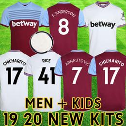 west ham kits 2019 - 2019 2020 West Ham soccer kits united jersey kids 19 20 ARNAUTOVIC football shirt ANDERSON camiseta CHICHARITO maillot d