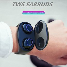 Universal watches online shopping - Mini TWS Bluetooth Earphone Wireless Headphones For Phone Watch Band Charging Bluetooth Wireless Stereo Sports Earbuds